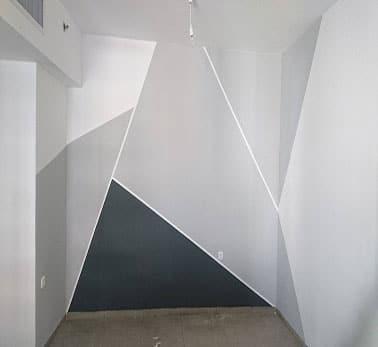 קיר משולשים, אפקט ערבה, אפקט קשמיר - הנדימן יכול הכל