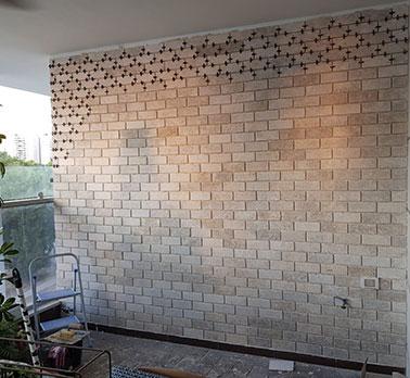 בניית קיר בריקים - הנדימן יכול הכל