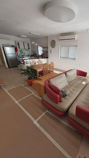 עיטוף הבית לפני שיפוץ וצבע - הנדימן יכול הכל